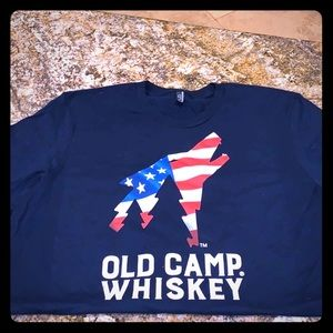 🐺Old Camp Whiskey Short sleeve Tee 5 piece Pack